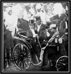 President Emilio Aguinaldo at the opening of Malolos Congress, with General Antonio Luna at his back