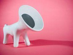 dog shaped speakers