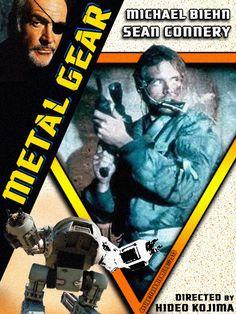 Movie Poster Nintendo Metal Gear