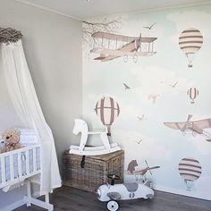 Airy wall paper   #jollyroom