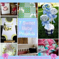 7 Sweet Baby Projects.    From www.bowdabrablog.com/