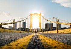 These easy-to-implement ideas will make your next road trip a little more eco-friendly, and they'll help you save money on gas, too. See ya on the road! Portal, Worms Eye View, Pittsburgh Skyline, Pittsburgh Pa, Unusual Hotels, Road Pictures, Road Trip, Picsart Background, Background Images