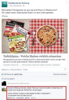 Schmecken Fertigpizzen so gut wie eine Pizza im...   Süddeutsche Zeitung