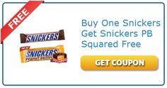 Buy One Snickers Get Another Free