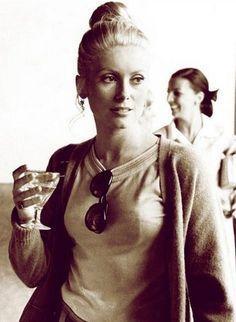 Catherine Deneuve sexy as hell in the 70s.