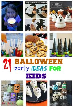 It& almost Halloween! but have you planned your kids party? If not don& worry these 21 Spooky Halloween Party Ideas for kids suitable for kids will help! First Halloween, Halloween Food For Party, Halloween Birthday, Holidays Halloween, Spooky Halloween, Halloween Treats, Halloween Decorations, Lego Birthday Party, Star Wars Birthday