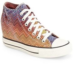 Converse Chuck Taylor® All Star® Lux x Missoni Collection Wedge Sneaker (Women)