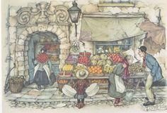 Anton Pieck: Groente en fruit