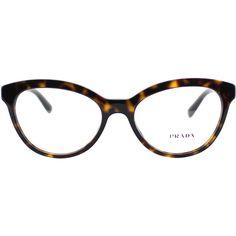 2ba947a82 Prada PR 11RV 2AU1O1 Havana Cat-Eye Plastic Eyeglasses-52mm (1,195 GTQ)