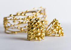 Golden rings by Giardinoblu