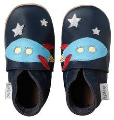 Bobux 460623 - Calzado de primeros pasos, color Azul Marino, color Xl Eu (6.5 Baby Uk)