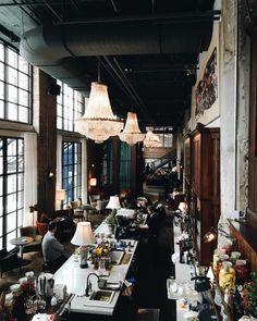 The Allis at Soho House Chicago Hotel Concept, Restaurant Concept, Cafe Restaurant, Restaurant Design, Cafe Interior, Interior Exterior, Interior Design, University Housing, Soho House