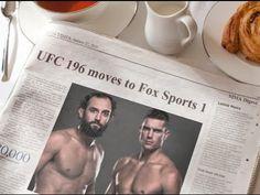 awesome MMA Update; UFC 196 transfer to Fox Sports 1; Johny Hendricks vs Stephen Thompson headlining