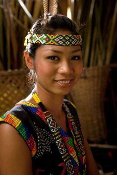 Sarawak woman.