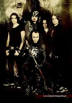 Moonspell - this is my favourite band, their music inspires me to just let go and have a great time!