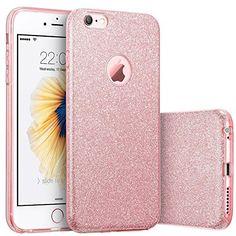 iPhone 6s Case, Imikoko™ Fashion Luxury Protective Hybrid Beauty Crystal Rhinestone Sparkle...