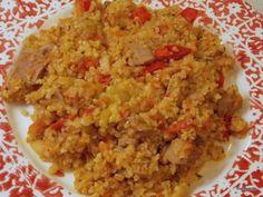 Varíme s Medveďmi – Bulgur – Denník N Fried Rice, Fries, Ethnic Recipes, Food, Bulgur, Essen, Meals, Nasi Goreng, Yemek