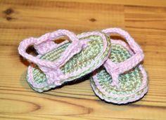 Baby Crochet Flip Flops