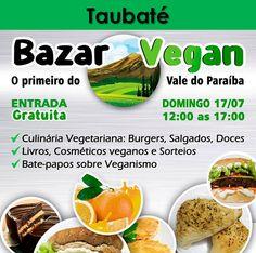 www.facebook.com/events/1038701399519196  #eventovegano #veganismo  #veganismoBrasil   #comidavegana #alimentacaovegana #culinariavegana  #gastronomiavegana #produtosveganos #produtovegano #aplv  #lactose #vegan #vegana #vegano #taubaté #taubate #valedoparaiba #valedoparaíba #bazarvegan  #bazarvegano #feiravegana  #feiravegan