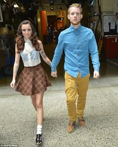 Cher Lloyd.  Love this outfit!!