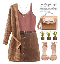 """Autumn style!"" by m-zineta ❤ liked on Polyvore featuring Laura Ashley, Stuart Weitzman and Michael Kors"