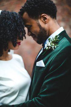 24 Velvet Wedding Details That Are Totally Crushing It
