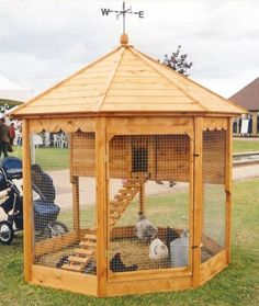 Building A DIY Chicken Coop If you've never had a flock of chickens and are considering it, then you might actually enjoy the process. It can be a lot of fun to raise chickens but good planning ahead of building your chicken coop w Cheap Chicken Coops, Chicken Coop Run, Diy Chicken Coop Plans, Portable Chicken Coop, Chicken Garden, Chicken Coop Designs, Backyard Chicken Coops, Building A Chicken Coop, Chickens Backyard