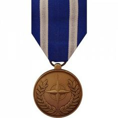 The NATO ISAF (International Security Assistance Force) Medal is a decoration presented to recognize personnel who have participated in the NATO led security mission in Afghanistan. The mission was originally assembled to support the establishment of the Afghan Transitional Administration in Kabul, but in October 2003 it was expanded to cover all of Afghanistan.