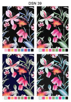 Estampados Verano '15 by Ana Poy, via Behance