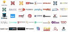 Some of the many gaming software providers that supply games at casino Online Casino Reviews, Games To Play, Slot, Software, Gaming, Videogames, Game