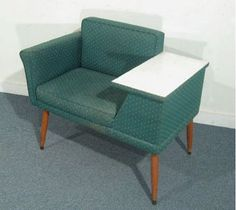 Remember when phones were stuck in one place??  Here's one piece of furniture that's redundant these days...