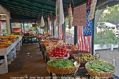 Amagansett Farmers' Market on Main Street, Amagansett via Jake Rajs #JCrew #MyShoeStory