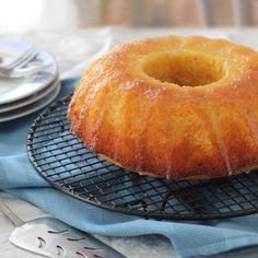 Tangy Lemon Bundt Cake