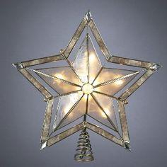 Star With Smoke Capiz Treetop   159887