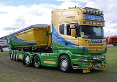 WH Malcolm Scania at Truckfest Scotland 2014 Scania V8, Volvo Trucks, Heavy Truck, Weird Cars, Dump Trucks, Peterborough, Tractors, Scotland, Buses