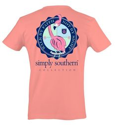 011711feeb428 Simply Southern Prep Faith Flamingo T-Shirt - On Sale Now!! 30%