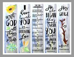 free scripture coloring bookmarks