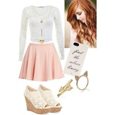 A fashion look featuring Miss Selfridge, Wet Seal skirts and Kendall & Kylie sandals. Browse and shop related looks.