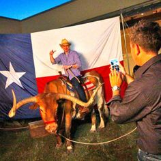 Texas' version of a photo booth - event idea