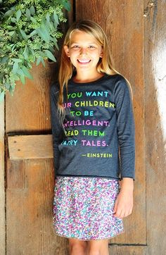 Peek Tee & Sequin Shirt (Toddler Girls, Little Girls & Big Girls) | Nordstrom