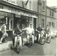 Jack Nolan's in The Coombe, Dublin 1960's.