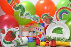 The Very Hungry Caterpillar Party Box For Up To 12 Guests