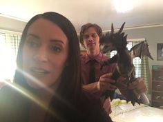 just another day on the set of @Criminal Minds @GUBLERNATION @pagetpaget