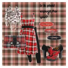 """""""Plaid."""" by kittykat9 ❤ liked on Polyvore featuring Wet Seal, Forever 21 and Kirra"""