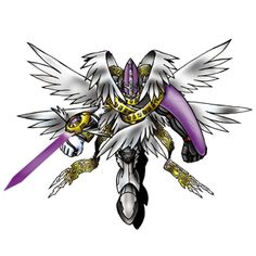 MagnaAngemon - Ultimate level Angel/Archangel digimon