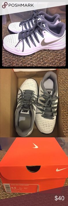 Brand New Nike Valor Court Brand new with box black, white, and gray sneakers. Nike Shoes Athletic Shoes