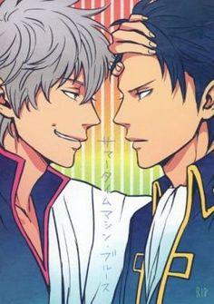 [Boys Love] Doujinshi - Gintama / Hijikata x Gintoki (サマータイムマシン・ブルース) / ロジセン