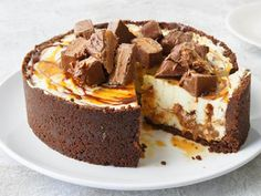 Healthy Cooking: Mars Bar Cheesecake