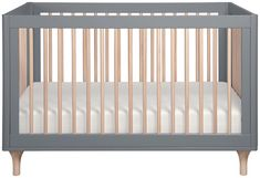 'Lolly 3-in-1 Convertible Crib with Toddler Bed Conversion Kit by Babyletto. @2Modern'