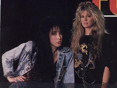 Heavy Metal Girl, Women Of Rock, Guitar Girl, Glam Rock, Vixen, Hair Band, Roxy, Rock Bands, Punk